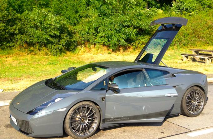 Lamborghini Showcar mieten