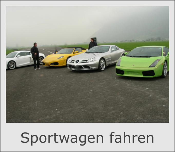 Sportwagen selber fahren