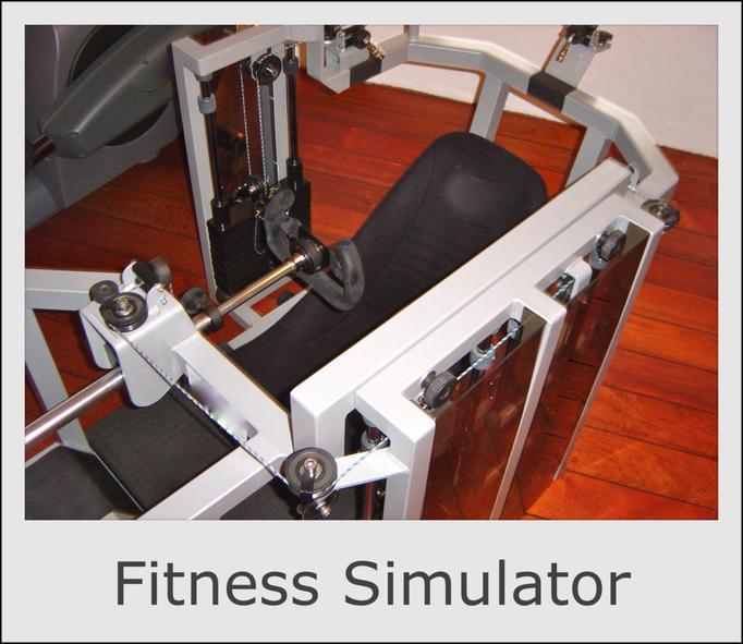 Motorsport Rennfahrer Fitness Kraft Simulator