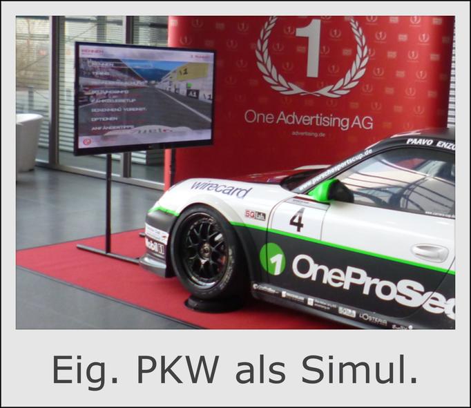 Adaptionskit Sportwagen Rennwagen Simulator