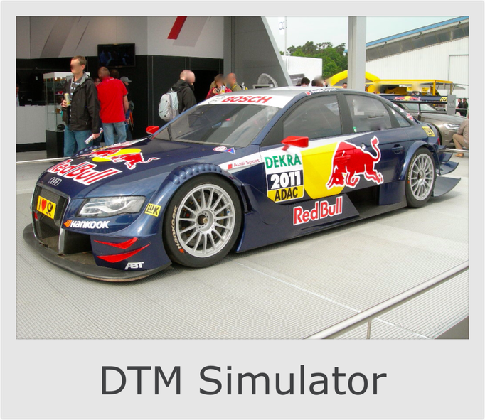 DTM PKW Auto Simulator mieten