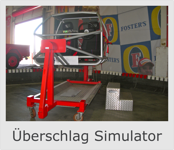 PKW Auto Überschlag Simulator