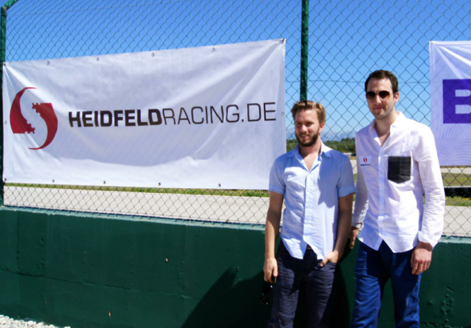 Nick und Sven Heidfeld