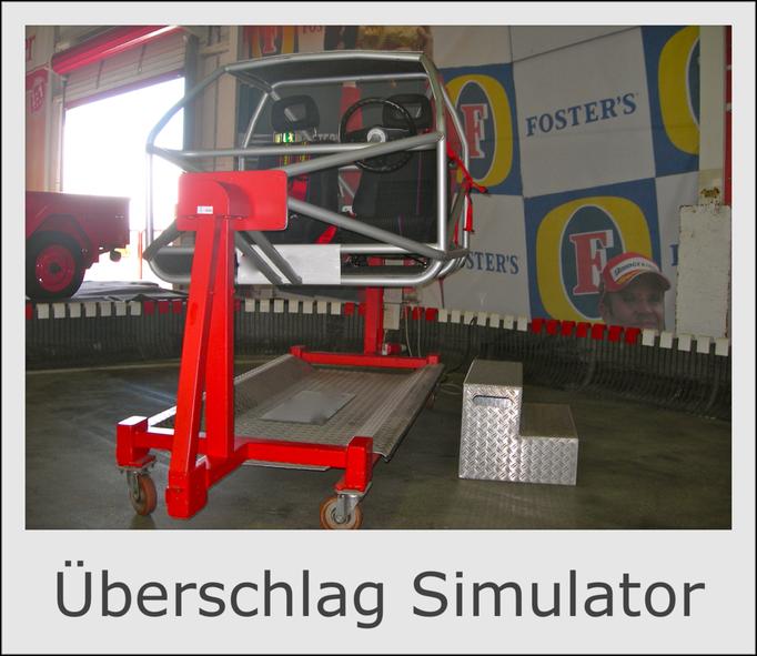 PKW Auto Überschlag Simulator mieten