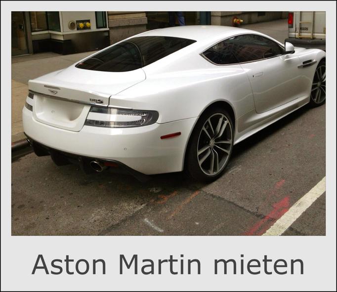 Aston Martin mieten