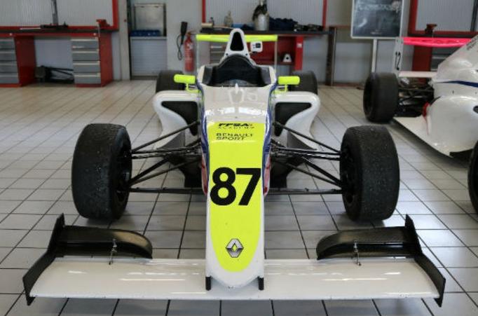 Formel 4 Rennwagen selber fahren