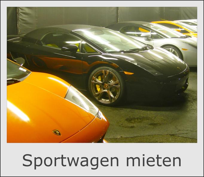 Sportwagen mieten