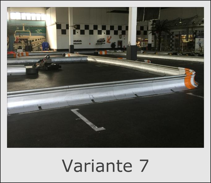 Mobile Kartbahn Variante 7 mieten