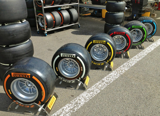 Formel 1 Reifen Deko mieten