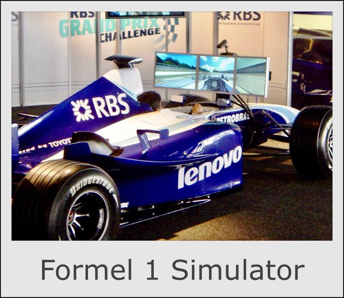 Formel 1 Simulator RennSimulator mieten