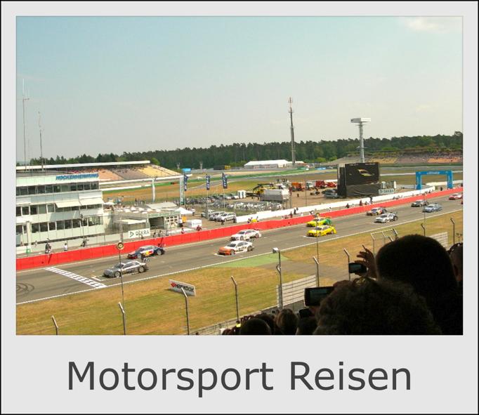 Motorsport Reisen, Formel 1 Reisen, DTM Reisen