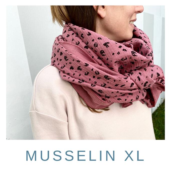 Musselin Tuch XL