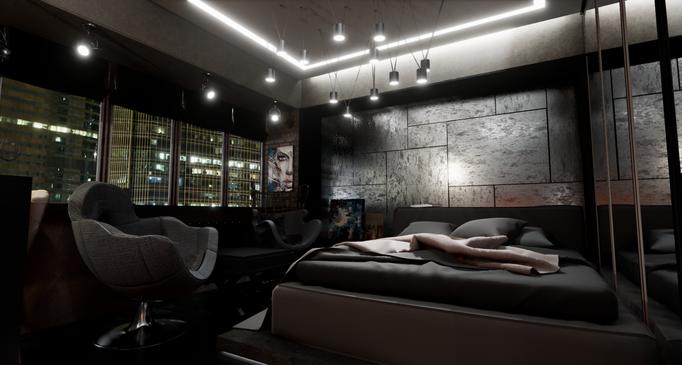Частный дизайнер интерьера, портфолио, дизайн интерьера квартиры в стиле лофт