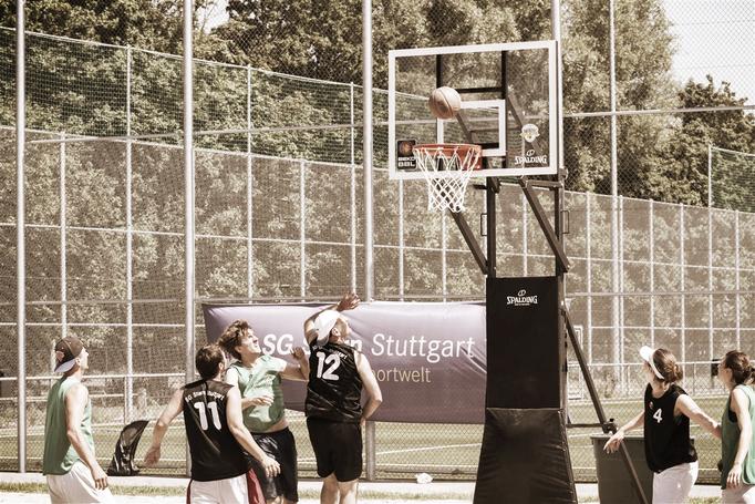 Spalding Street Basketballkorb