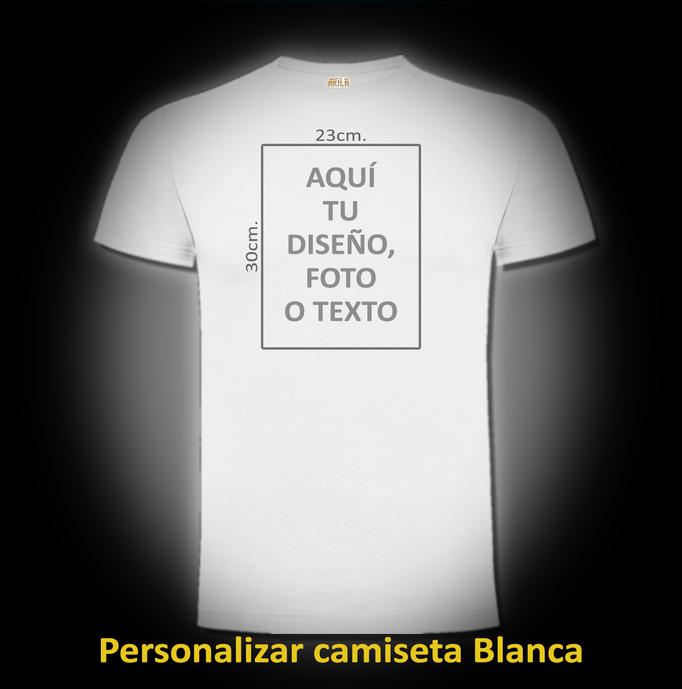 Personalizar camiseta Blanca