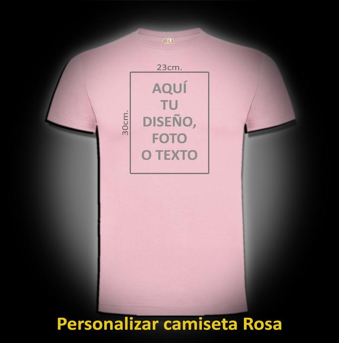 Personalizar camiseta Rosa