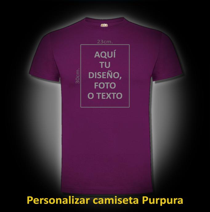 Personalizar camiseta Purpura
