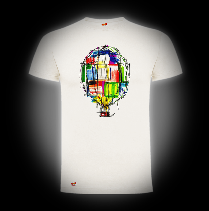 Globo Abstracto Camiseta Gines Robles