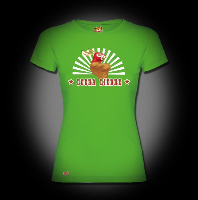 Camiseta Lucha liebre - Dani Marco El Museo de las camisetas