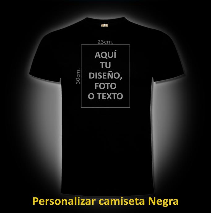 Personalizar camiseta Negra