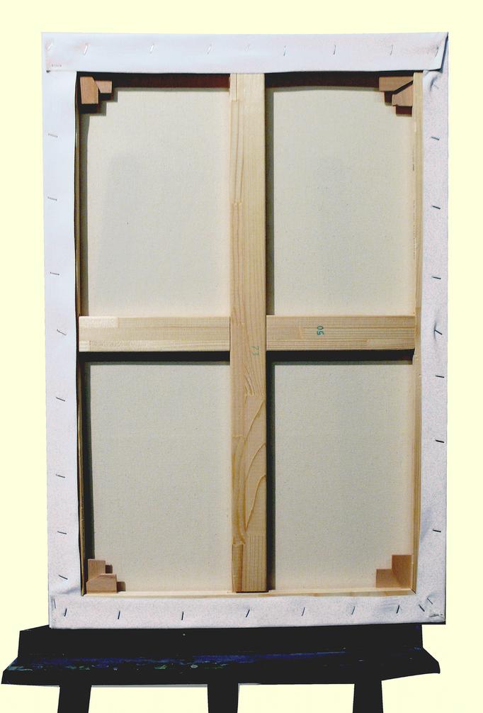 E boutique / E shop Verso - Toile à monter soi-même coton 76*50 cm