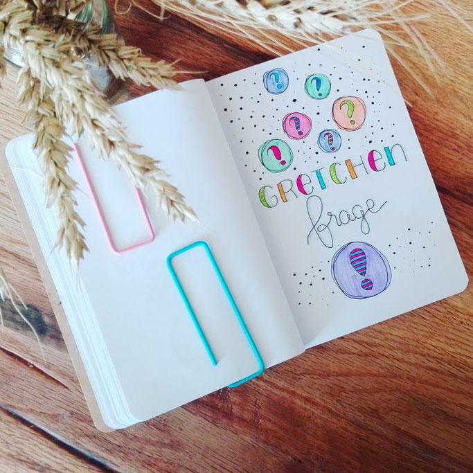 Handlettering: Gretchen Frage (Letter Lovers elsterchen)