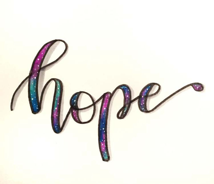 Letter Lovers bianca_helali: Handlettering hope