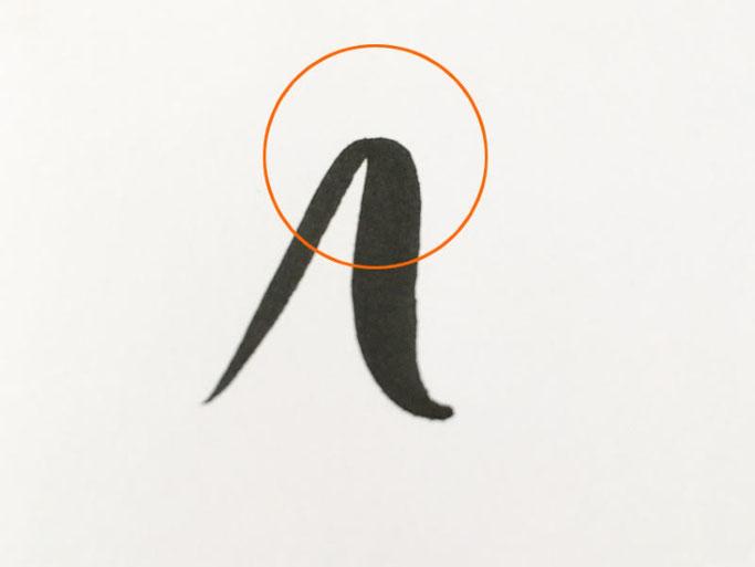 Letter Lovers robert_lettering: Anleitung Brush Lettering Basics für Anfänger - Kursänderung von dünn zu dick