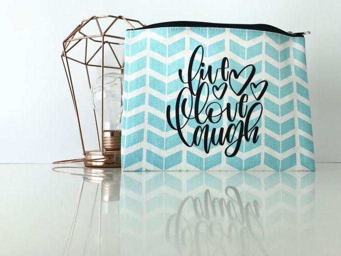 live - love - laugh - Lettering vom mel_lettering für die Letter Lovers