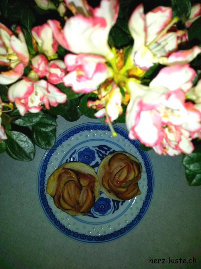 Rezept: leckere Apfelrosen