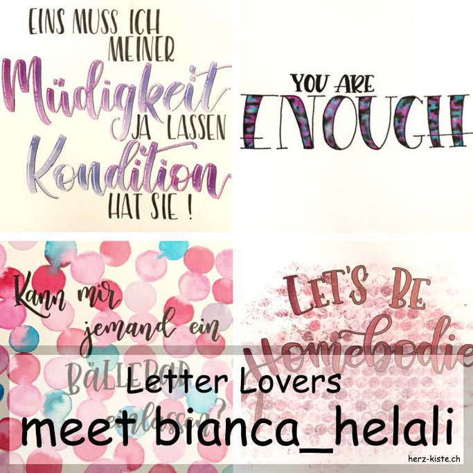 Letter Lovers in der Herz-Kiste: meet bianca_helali