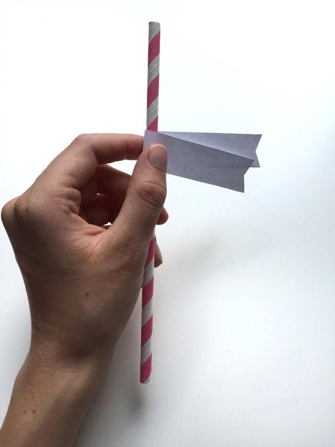 Anleitung für eine Strohhalmdeko selber machen - DIY Idee der Letter Lovers (somelovelyletters)