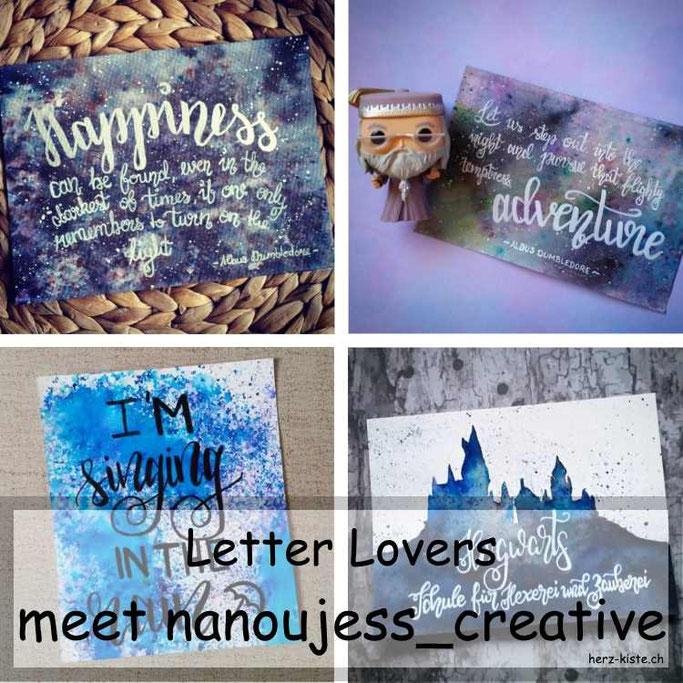 Letter Lovers in der Herz-Kiste: nanoujess_creative zu Gast