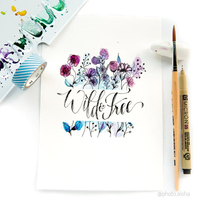 Letter Lovers photo.aloha: Handlettering Wild and Free