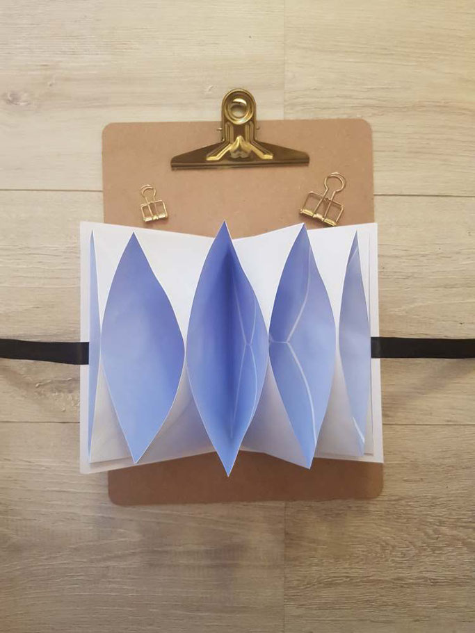 Anleitung für eine einfache DIY Sammelmappe aus Briefumschlägen zum selber machen - Letter Lovers mrs.b.letters