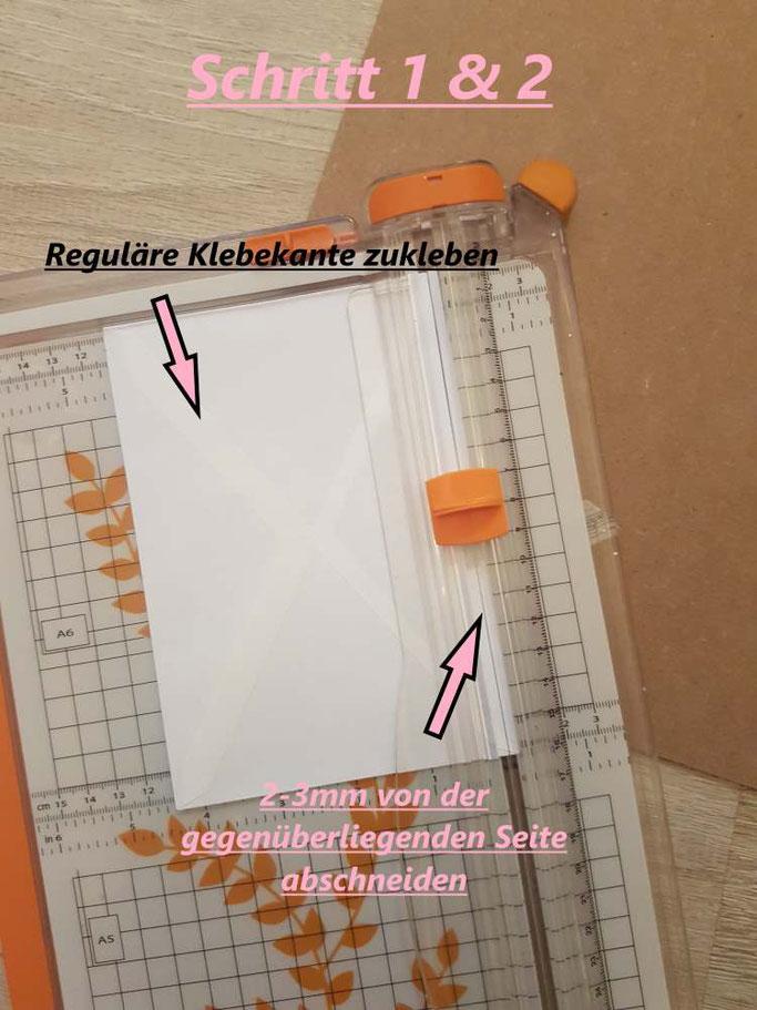 Anleitung: DIY Sammelmappe für Letterings - Schritt 1 & 2 (Letter Lovers mrs.b.letters)