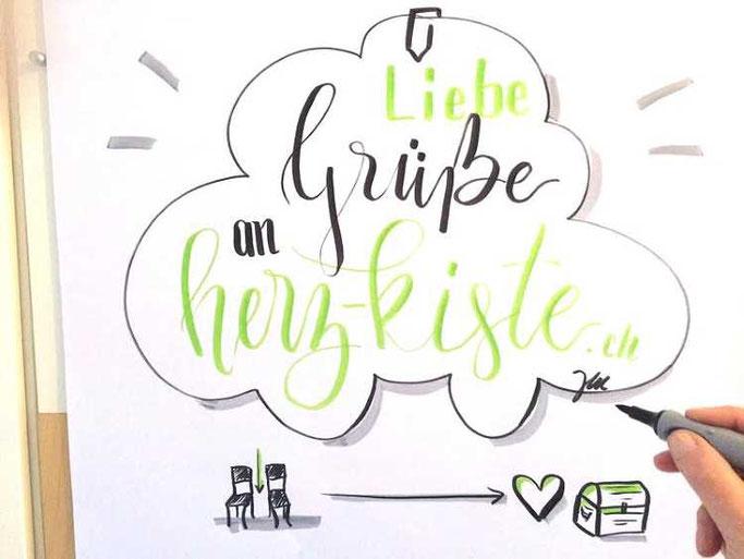 Letter Lovers zwischen2stuehlen: Flipchart Lettering