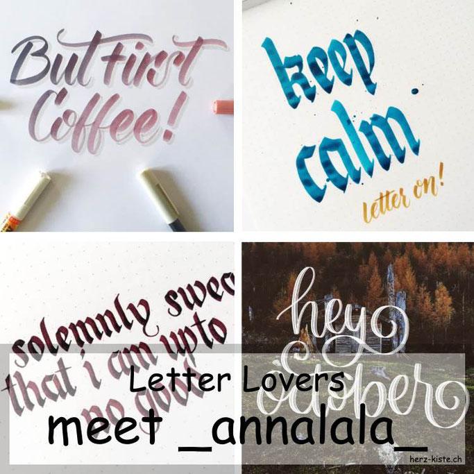 Letter Lovers in der Herz-Kiste: _annalala_ zu Gast