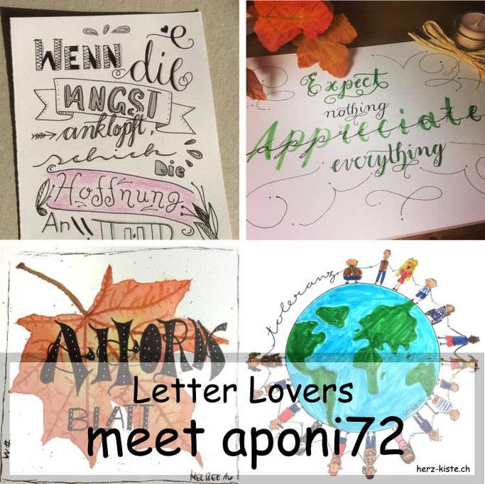 Letter Lovers in der Herz-Kiste: aponi72 zu Gast