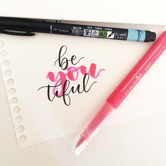 Letter Lovers sevilovesletters: Handlettering be you tiful