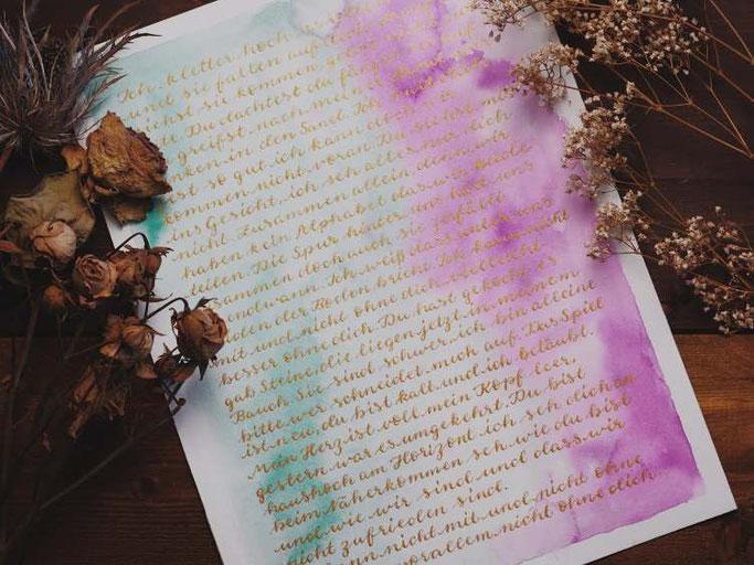 Letter Lovers vierneuntel: Handlettering