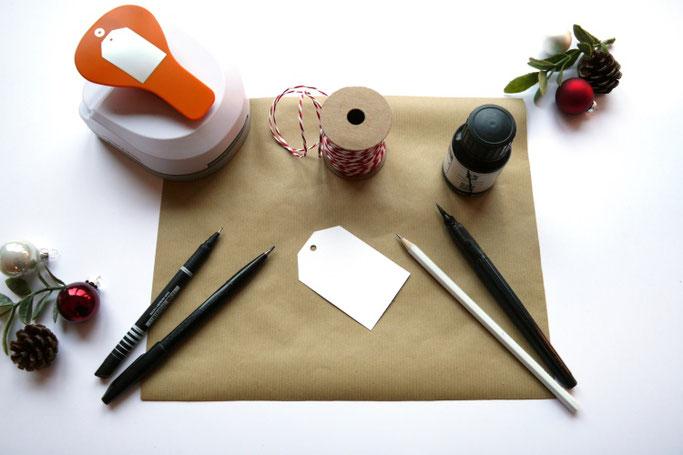 DIY Geschenke hübsch verpacken - dein benötigtes Material