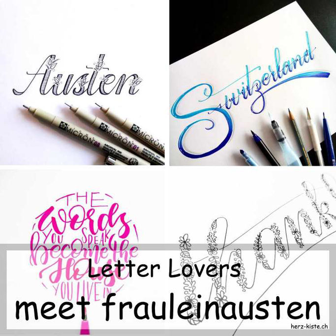 Letter Lovers in der Herz-Kiste: meet frauleinausten