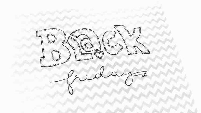 Letter Lovers mamsi.lila: Handlettering Quote Black friday