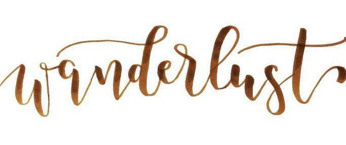 Letter Lovers buchstabenprinzessin: Handlettering Wanderlust