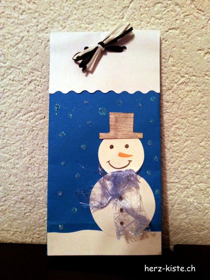 Geschenktüte - kleine Verpackung für Mitbringsel