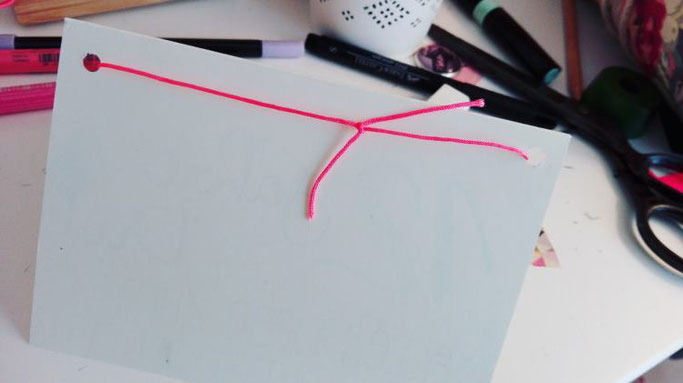 Geletterte Geburtstagskarte mit Washi-Wimpeln aufpeppen - Anleitung von Elsterchen für die Letter Lovers