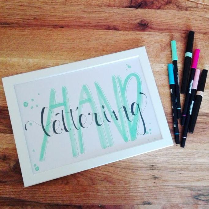 Handlettering - Letter Lovers Elsterchen