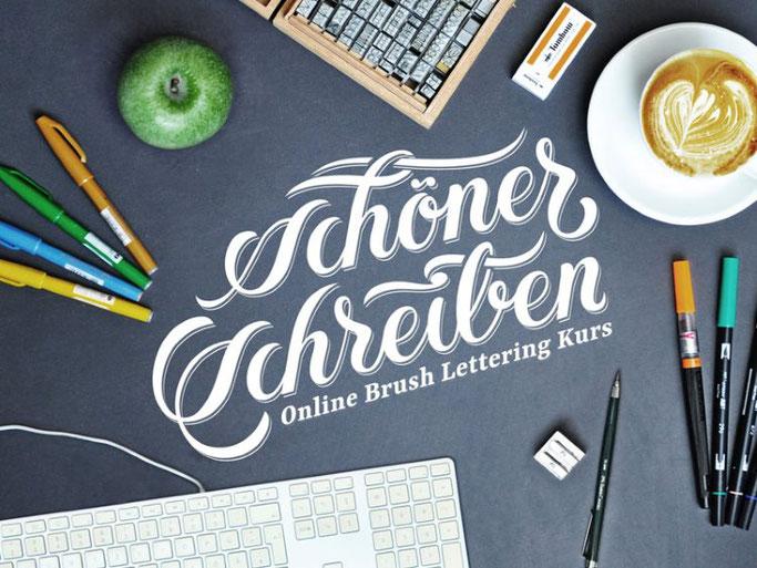 Letter Lovers robert_lettering: Handlettering Schöner Schreiben