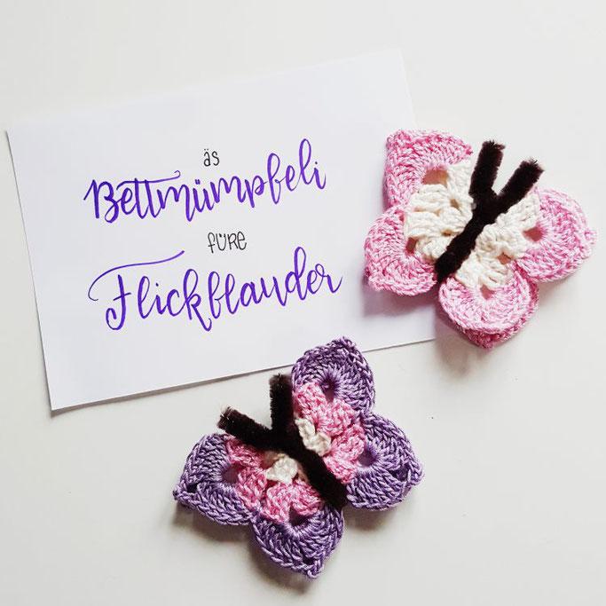 Bettmümpfeli und Flickflauder - schweizerdeutsches Lettering